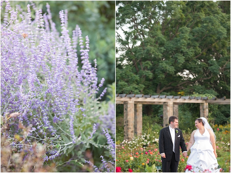 Angie Matt Boerner Botanical Garden Wedding Heather