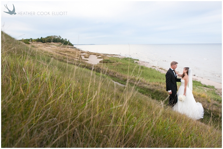 Sarah Ryan Whistling Straits Wedding Photographer Heather Cook Elliott